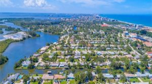 Aerial photo of brevard county